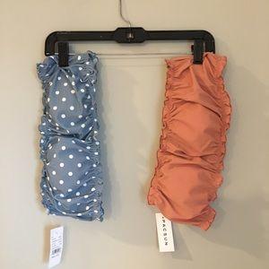 Pac Sun Bikini Tops (set of 2)